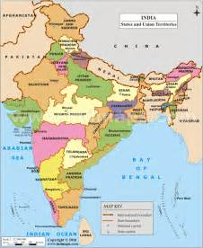 India Map States by India Map Will All States