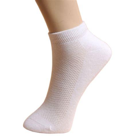 Kaos Kaki Pria Rb8553 1 kaos kaki olahraga pria motif jaring 5 pair white jakartanotebook