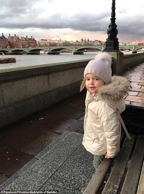 Grieving Williams Flies From Sweden To New York by Princess Madeleine Releases Birthday Portraits Of Leonore
