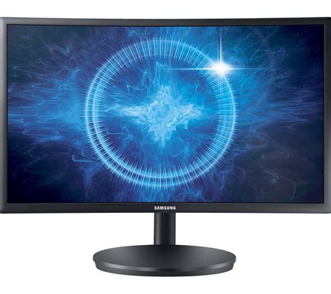 samsung cfg full hd  curved led monitor black