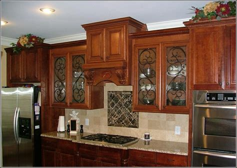kitchen cabinet doors with glass inserts tin cabinet door inserts home design ideas