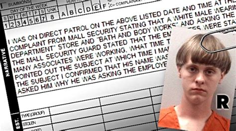 Dylann Roof Criminal Record Charleston Shooting Dylann Roof S Prior Arrest Record Third Strike This