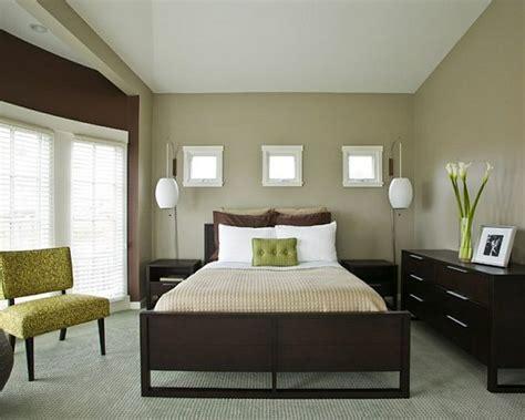 bedroom ideas with dark brown furniture tendance d 233 co peinture en 50 belles images