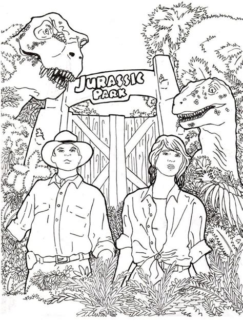 jurassic world coloring pages  coloring pages  kids