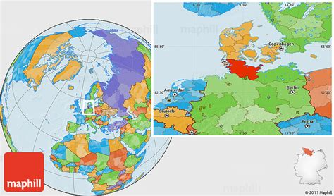 locate germany on world map political location map of schleswig holstein