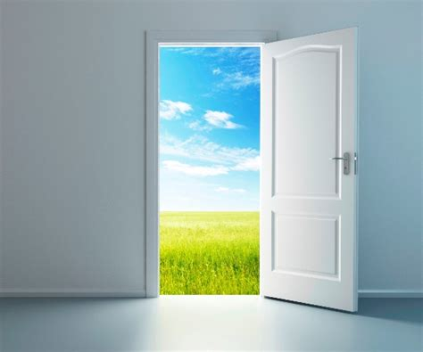 outside doors opening door door opening