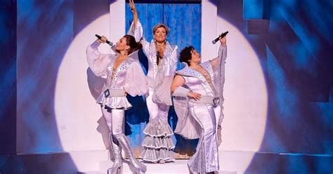 Mamamiya Musical Mobile review mamma at the palace theatre manchester