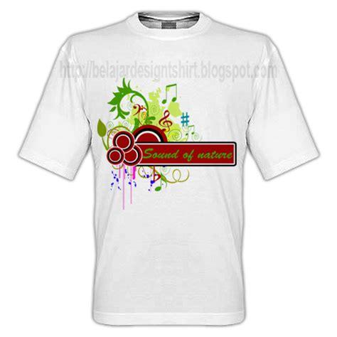 Tshirt Kaos Sound koleksi psd desain kaos sound of nature t shirt