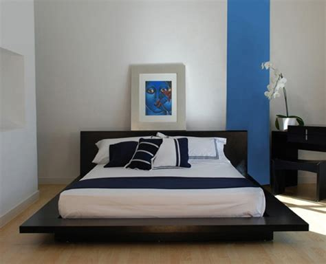 contemporary blue bedroom stylish and relaxing bedroom colors with black furniture