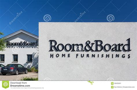 room board store exterior editorial photo image 58405691