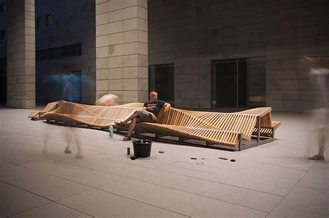 long wooden benches long wooden bench 5 fubiz media