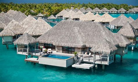 Bungalow Designs by St Regis Bora Bora Resort Starwood French Polynesia