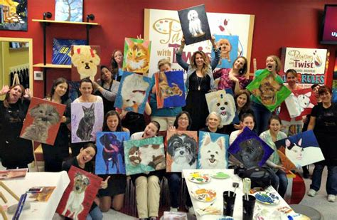 painting with a twist lansing paint your pet to with paint your pet at painting with a twist