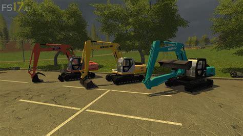 coolest ls kobelco excavators pack v 1 0 fs17 mods