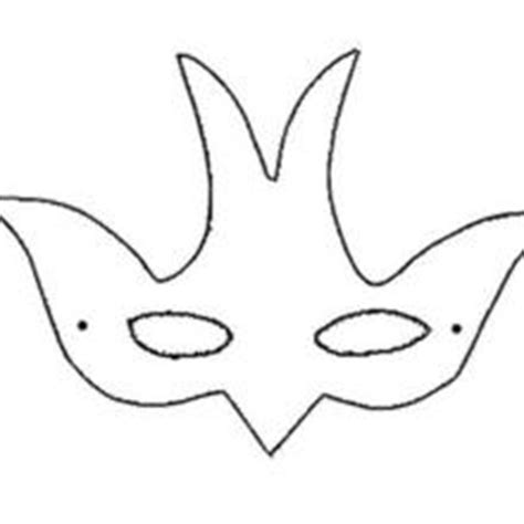 goose mask template pin printable bird mask template on