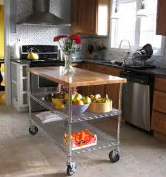 diy kitchen island 6 diy kitchen islands apartment therapy