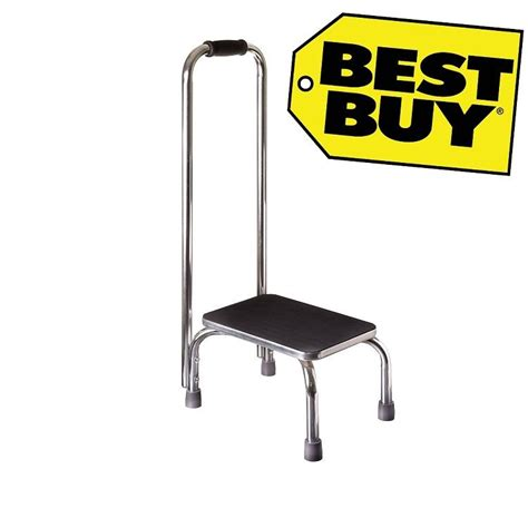 Safe Step Stool For Seniors step stool safety handle mobility non slip elderly