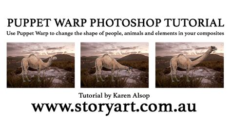 tutorial photoshop warp puppet warp photoshop tutorial by karen alsop
