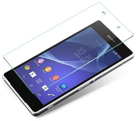 Tempered Glass Cameron Xperia Z2 pro tempered glass screen protector for sony xperia z2