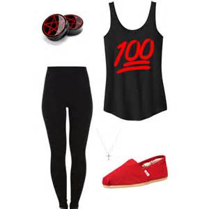 Fashion look from july 2014 featuring long tank tops slim pants and