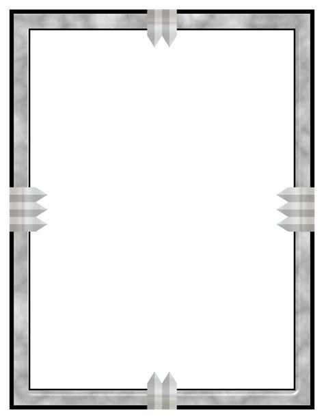 Decorative Frames Clipart Marble Amp Metal