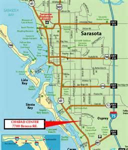 sarasota map of florida directions and map chabad lubavitch of sarasota