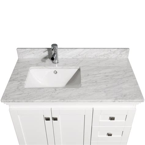 36 bathroom vanity with sink acclaim 36 quot white bathroom vanity set featuring soft