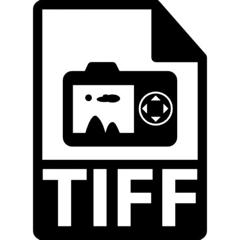 tiff file format tiff file extension symbol icons free download