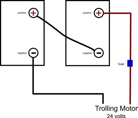 7 best images of trolling motor battery wiring diagram