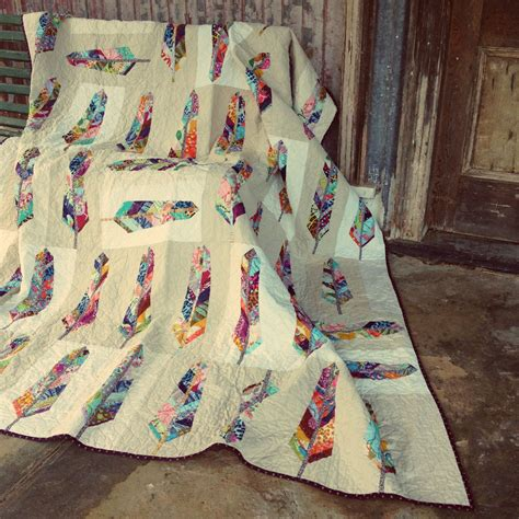Horner Feather Quilt by Back To Photostream