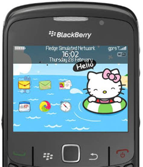 theme hello kitty untuk blackberry free download tema lucu blackberry gemini 8520 tren info