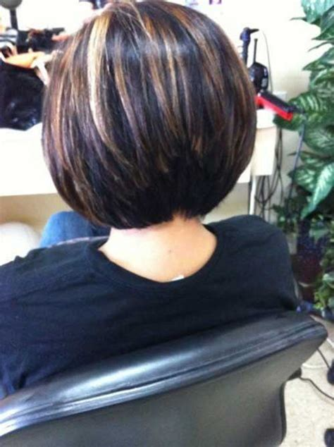 bob haircuts and highlights 20 best stacked layered bob bob hairstyles 2017 short
