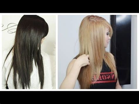 how to lighten hair at home no added