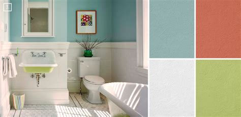 bathroom color ideas palette and paint schemes home