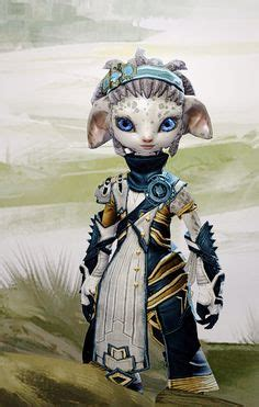 asura guild wars 2 new hairstyles for females asura concept artby matthew barrett 3dprinters please