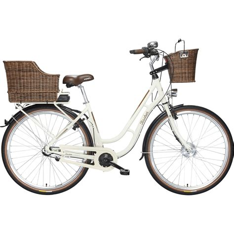 E Bike City by Fischer Ecoline City Retro E Bike Er 1704 Preisvergleich