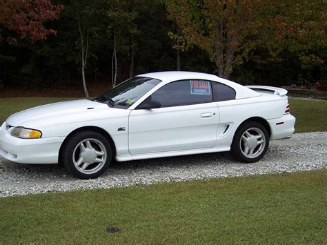 1995 white mustang 1995 mustang gt 45k white leather the mustang