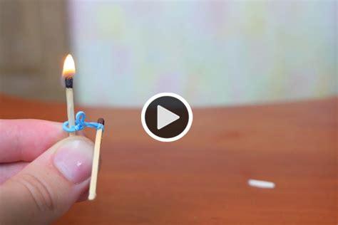 Begini Cara Maling Dengan begini cara menyalakan api dengan karet money id