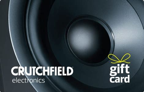 Crutchfield Gift Card - crutchfield gift cards bulk fulfillment egift order online