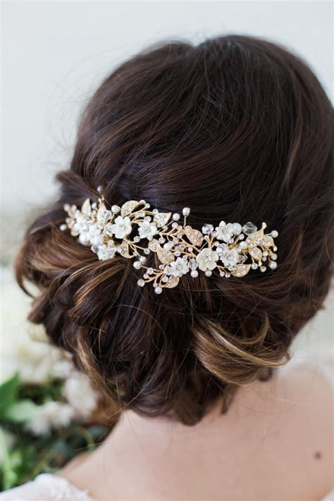 Wedding Hair Accessories Images by Bridal Flower Hair Accessories Www Imgkid The