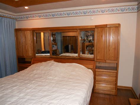 king size wall unit bedroom set king size bedroom set 500 00 new lenox il patch