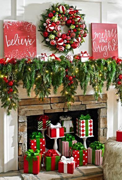decorar fotos navidad online ideas para decorar la chimenea en navidad decora online