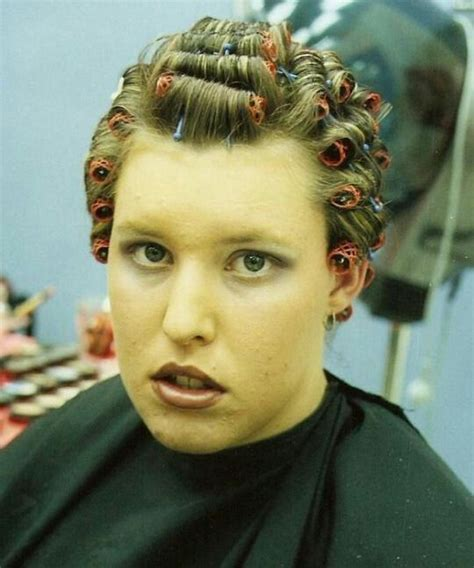 his hair in rollers 17 best images about curlers on pinterest curls sats