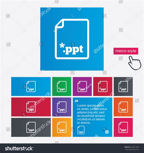 eps format ppt file presentation icon download ppt button ppt file