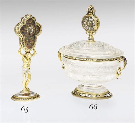 Vienna Bowl Set Dusdusan an austrian silver gilt mounted rock bowl and cover set with of hermann