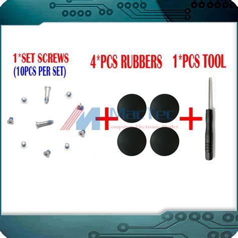 1 Set Rubber Kaki Karet Macbook Pro Retina 4 Pcs laptop kaki karet beli murah laptop kaki karet lots from