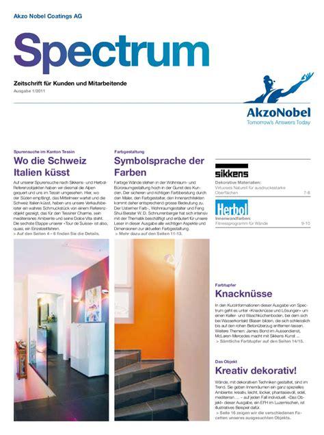 Wandgestaltung Mit Farbe 6912 by Akzonobel Spectrum 1 11 D Tcm28 55627 By New Media