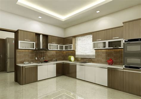 Interior Design Of Kitchen L Shape White Kitchens Others Extraordinary Home Design