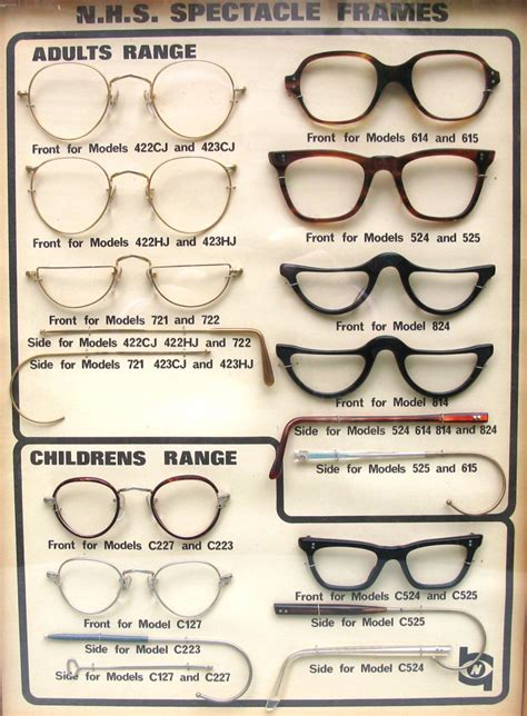 a spectacular look back at novelty nhs glasses