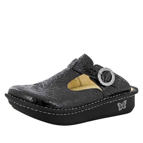 alegria shoe shop alegria classic black emboss alegria shoe shop